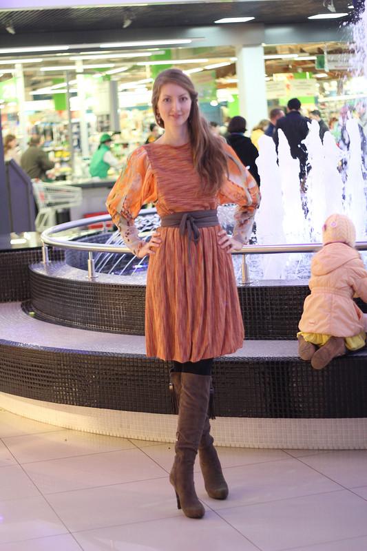 Платье-трансформер, часть I