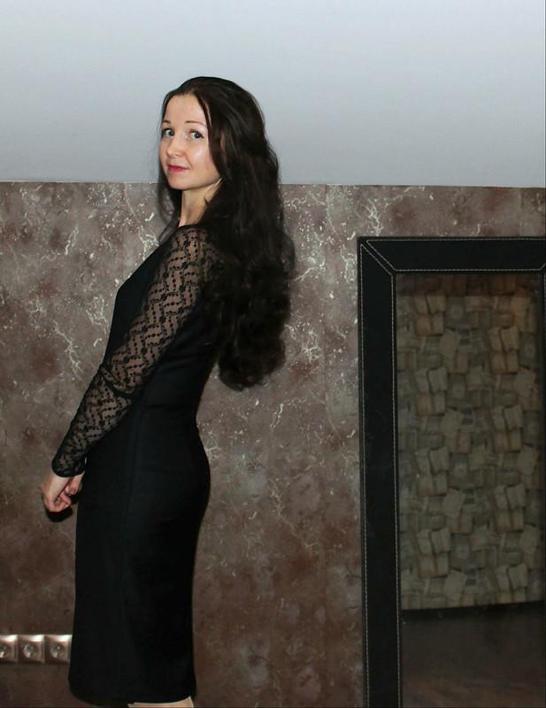 Маленькое черное платье от danin