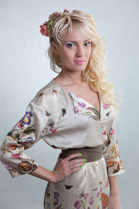 Модель вмоем любимом платье )) от ТАТЬЯНА_CHITINKA