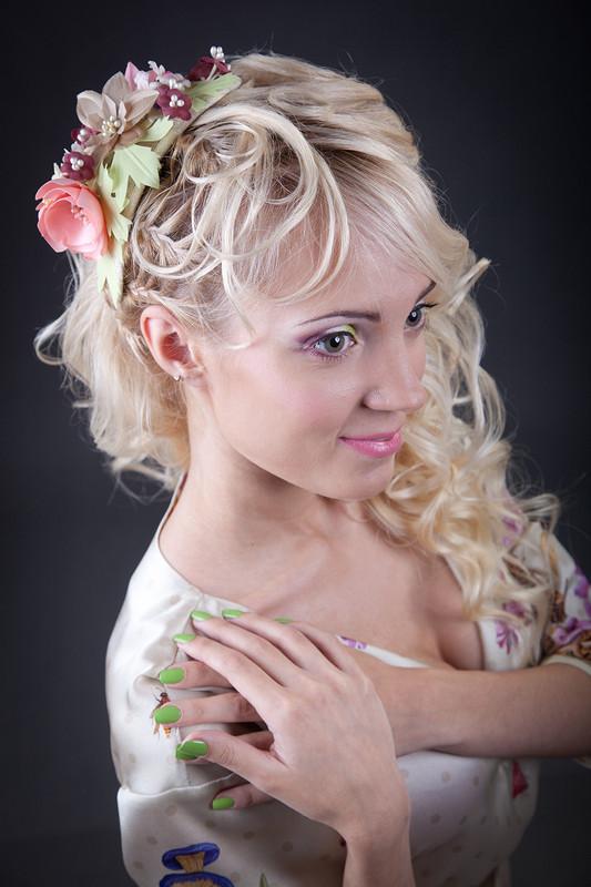 Модель вмоем любимом платье ))