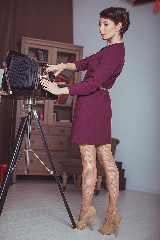 Пальто цвета бордо :) от ladytory