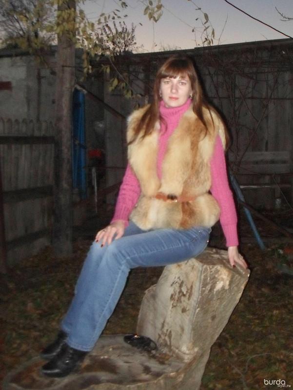 меховой жилет от Miss Brilliant