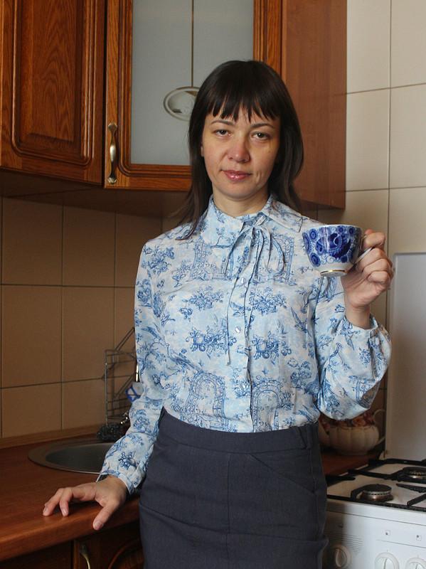 Голландская блузка от stitcher