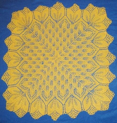 двойная шаль харуни от Svlana