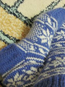 Работа с названием шерстяные носки