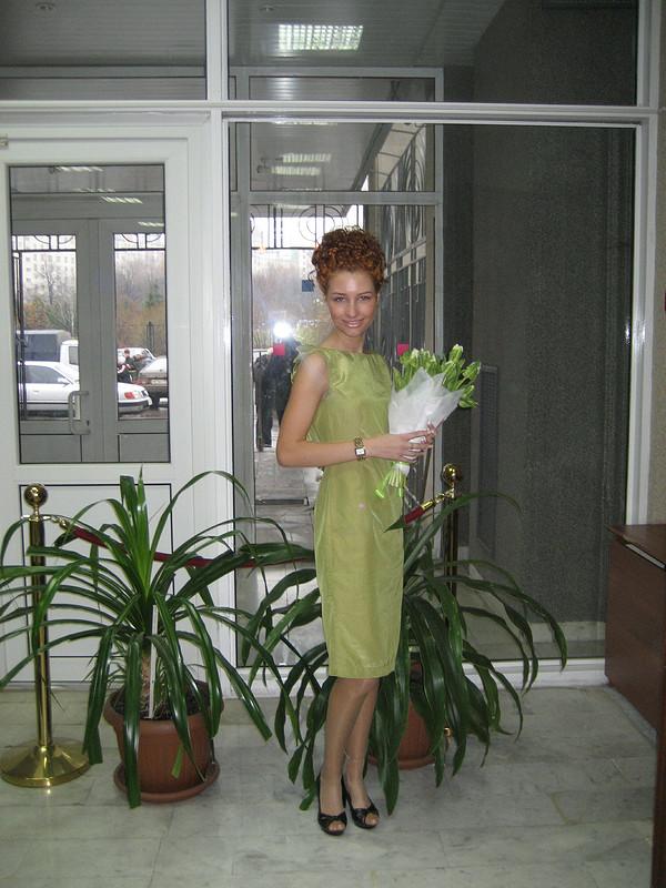 платье соткрытой спиной от Вера Волхонская
