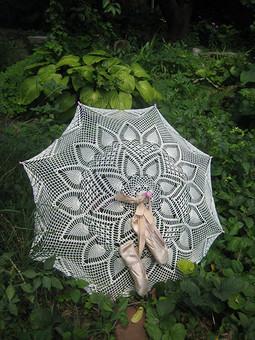 Работа с названием Детский ажурный зонт