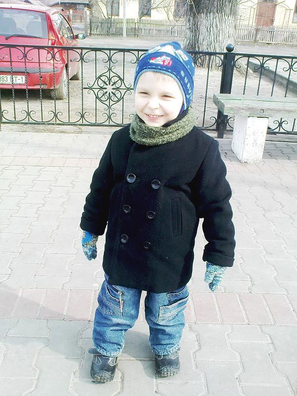 Любимое пальтишко моего сыночка