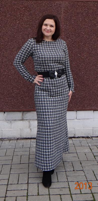 Платье изткани букле от Natalimur