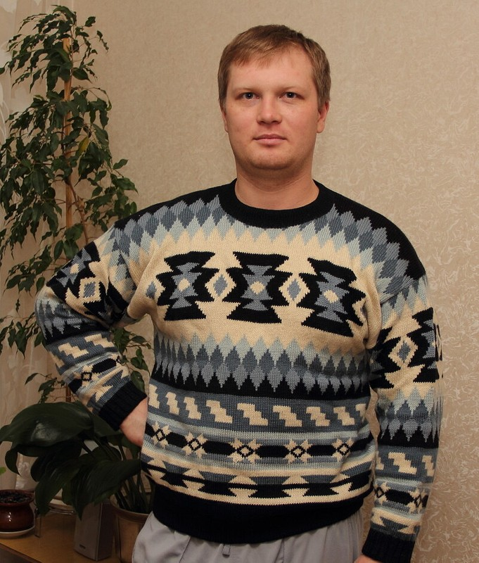 зимний свитер от MARI_57