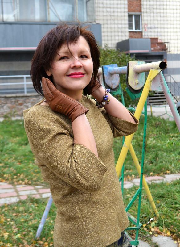 Джинсовые брюки + от Любаева Светлана