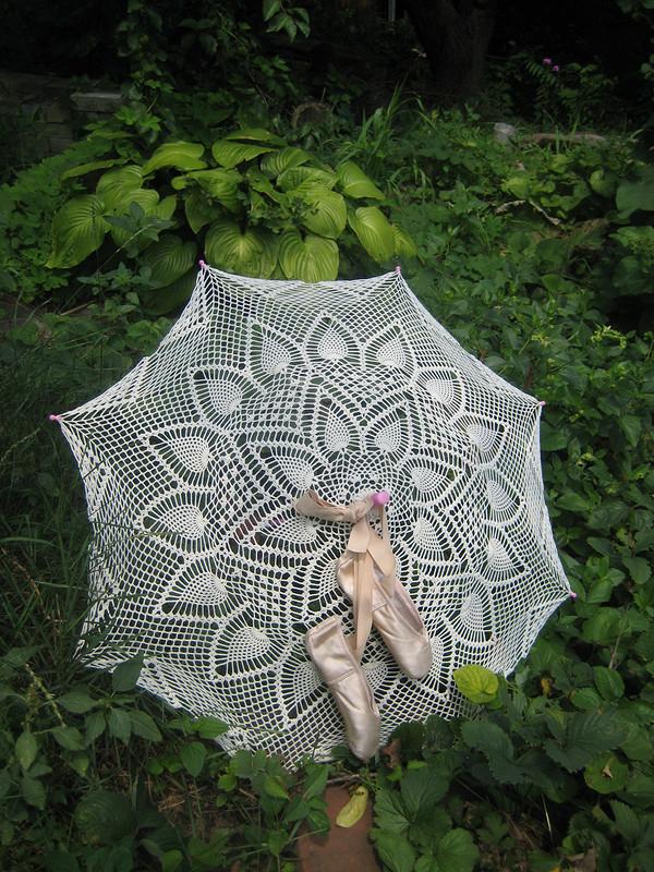Детский ажурный зонт
