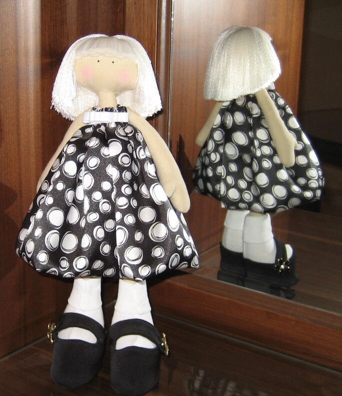 Кукла Люся от Anastasiya Sapega