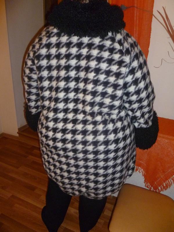 Пальто в«гусиных лапах» от Ольчик Н