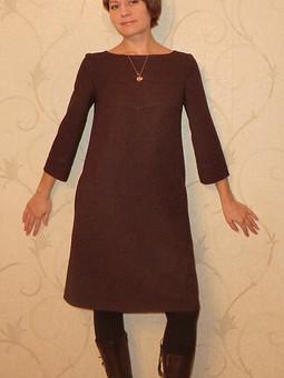 Работа с названием Декабрьское платье
