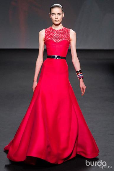 Праздничные наряды вновой коллекции Christian Dior Couture