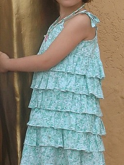 Работа с названием Летнее платье для девочки