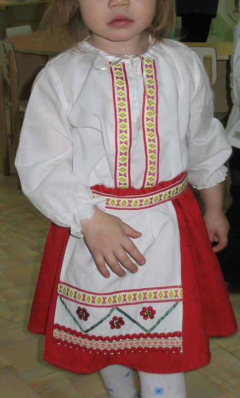 украинский костюм длядевочки от Тамиша
