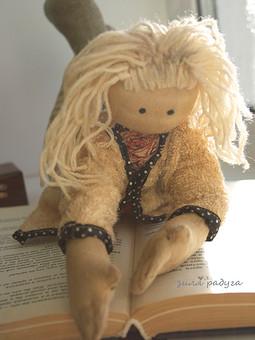 Работа с названием кукла Илона