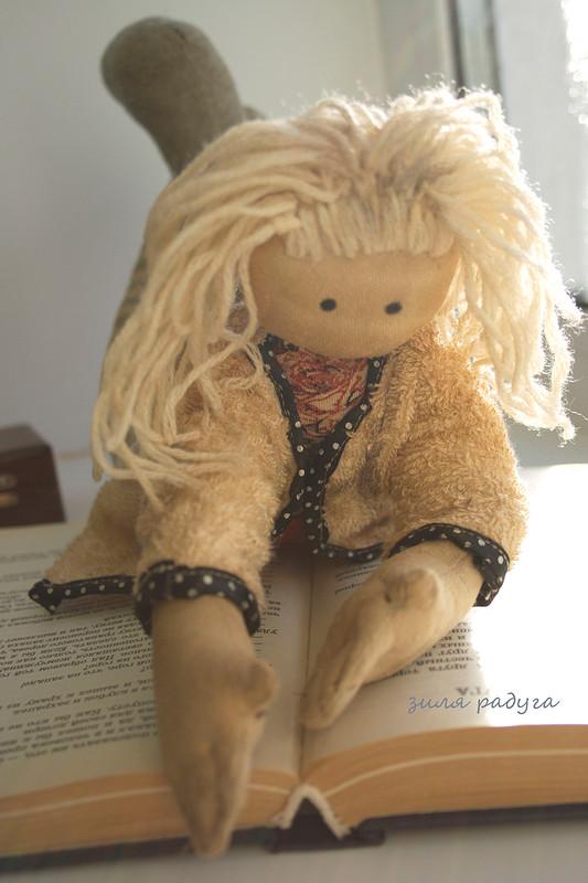 кукла Илона от Zilka