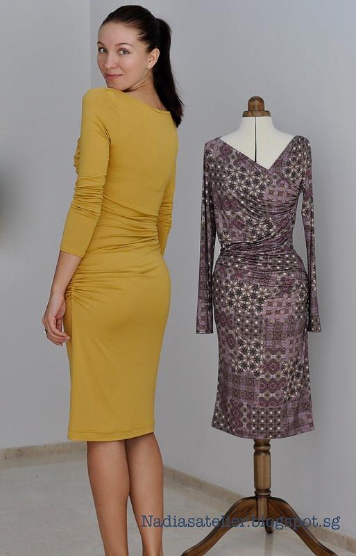 Два платья поодной выкройке