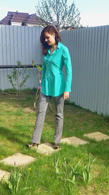 Рубашка-медсестричка от wild-koshka