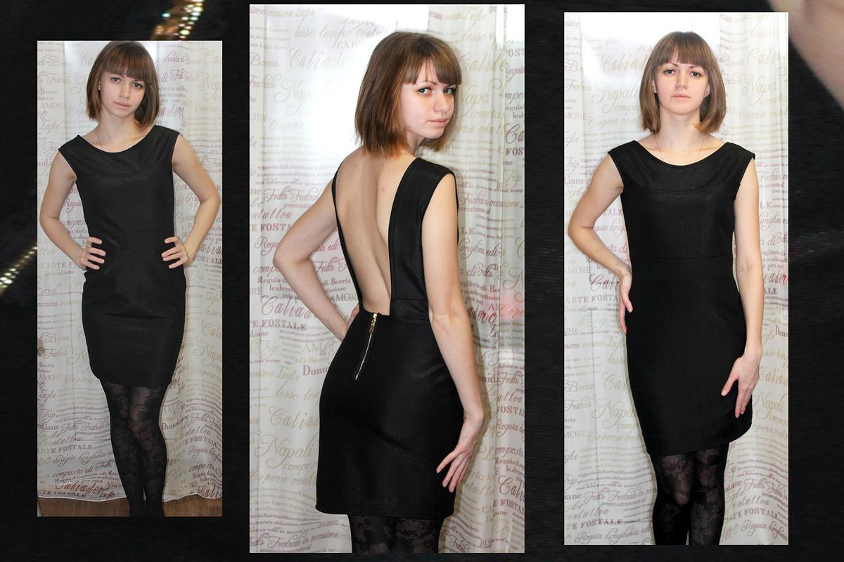 Платье соткрытой спинкой от Киса-киса