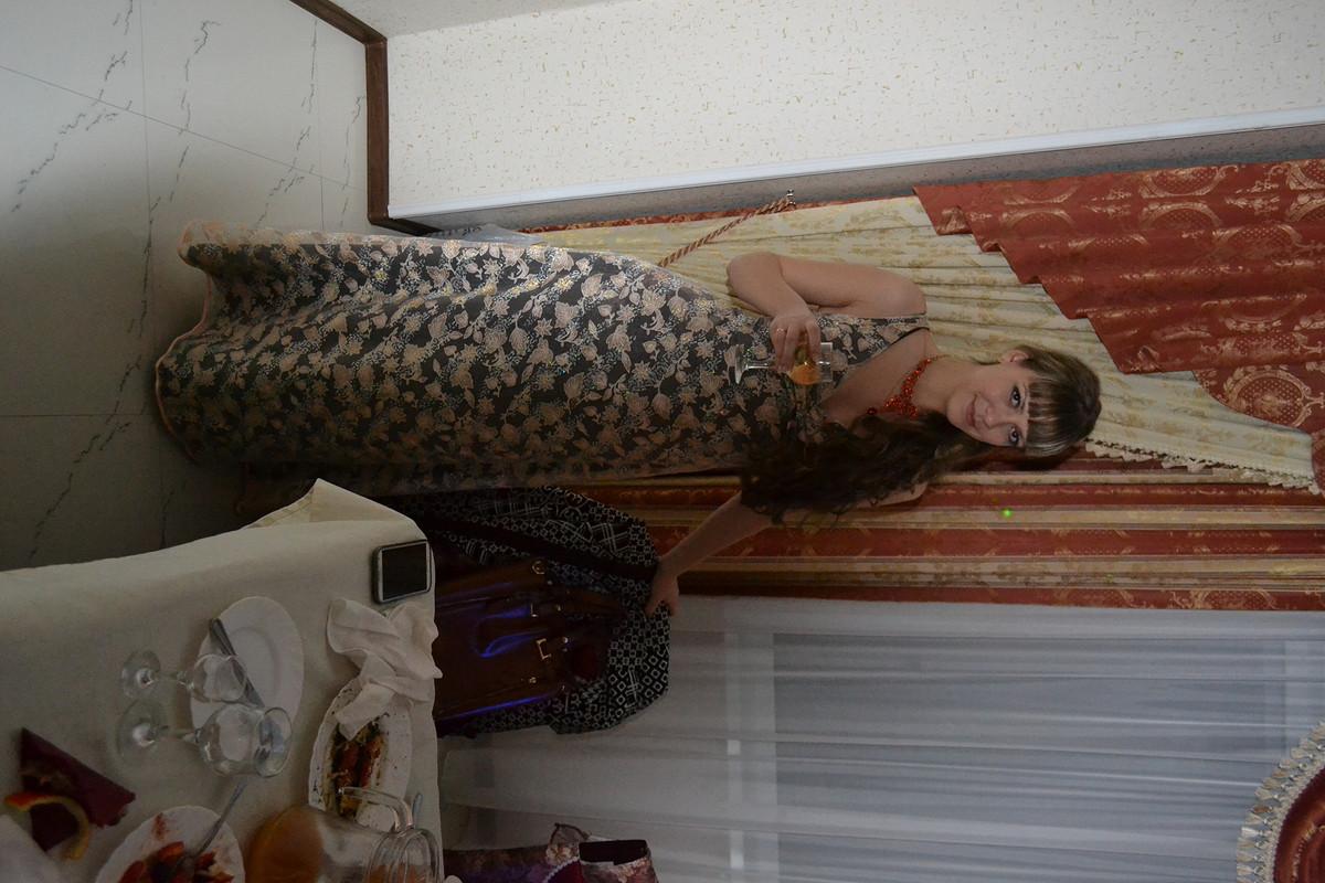 платье красивое))))