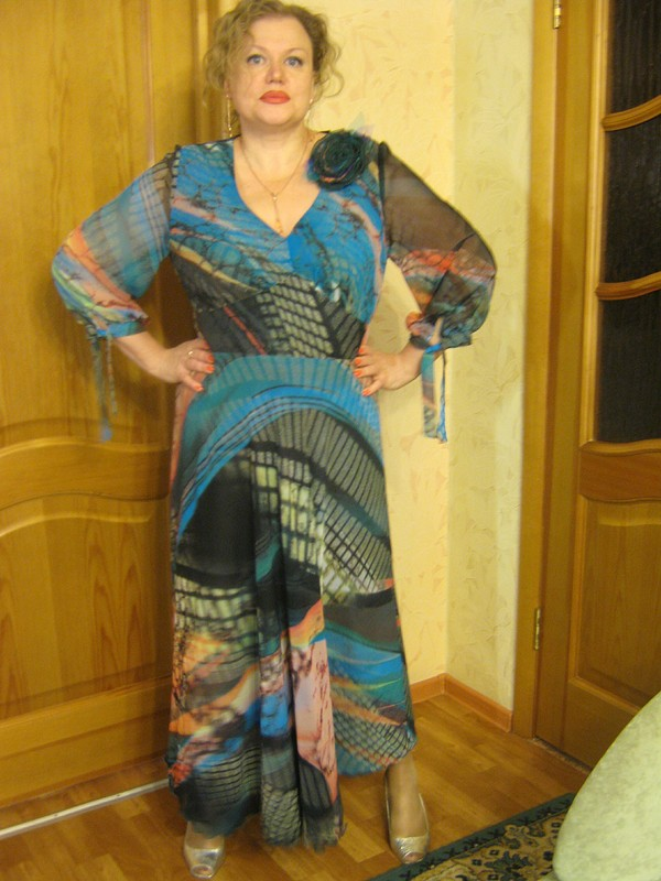 Не летнее платье