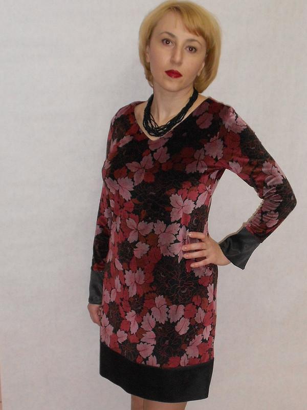 гербарий или платье систорией от Урюпчанка