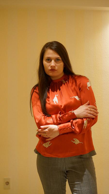 Cats on the red! от olgapoluektova_style