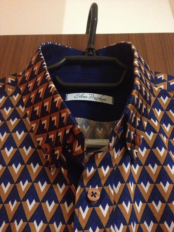Мужская рубашка от muursika