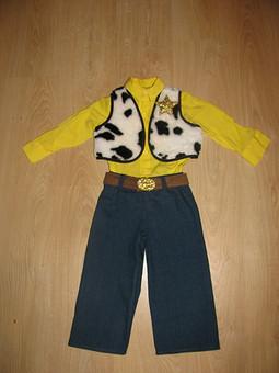 Работа с названием костюм ковбоя на НГ для мальчика из мультика История игрушек