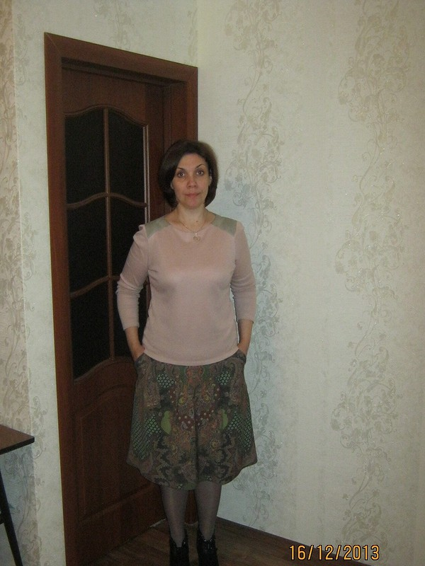 Почти платочная юбка
