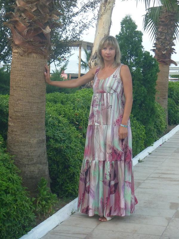 летнее платье от siliwanowa