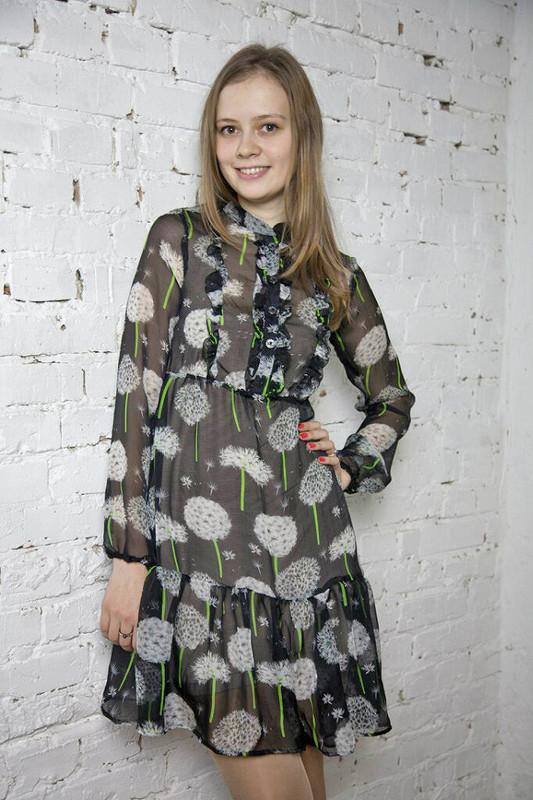 Платье изодуванчиков от Мила-Полька