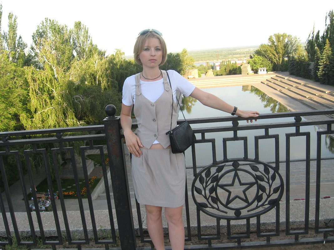 Юбка, футболка ижилет от OlesyaLesya
