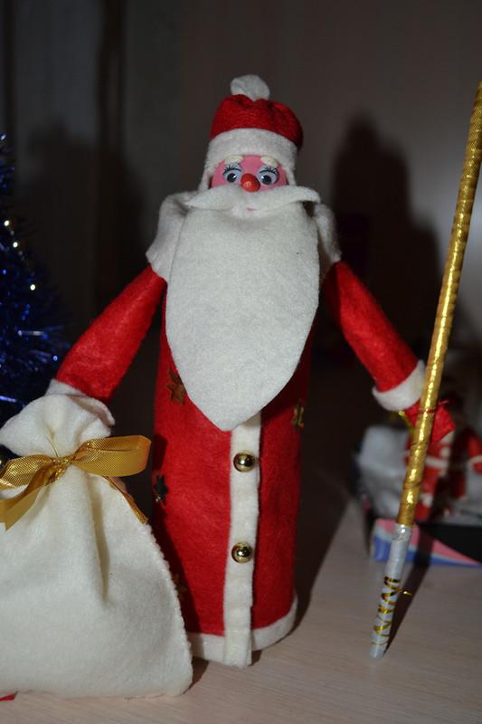 Дед Мороз изфетра. от Дорина