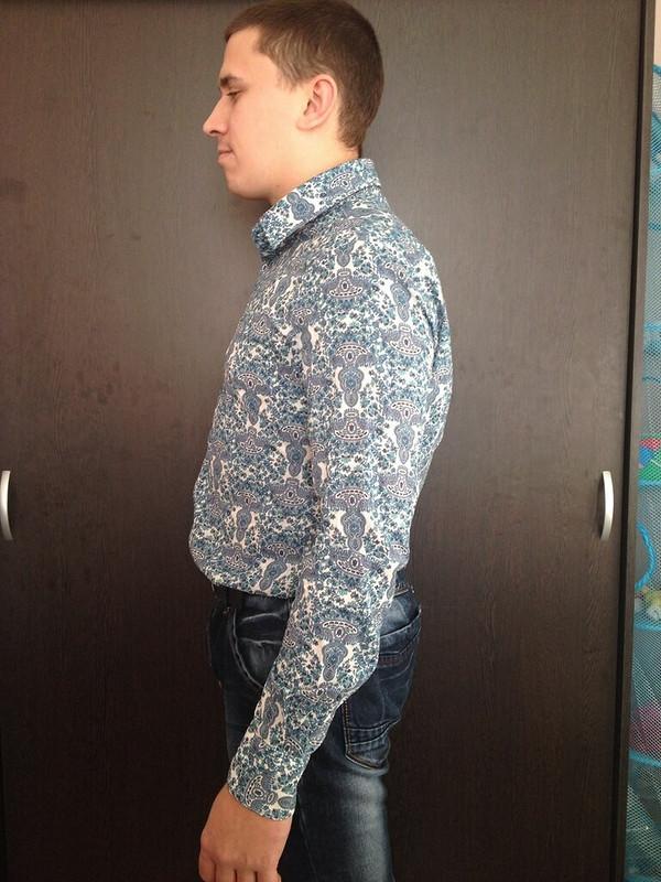 Мужская рубашка длямужа сестры от muursika