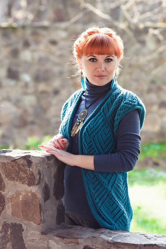 Жилет «Тайна ажура» от Дрёмова Ирина