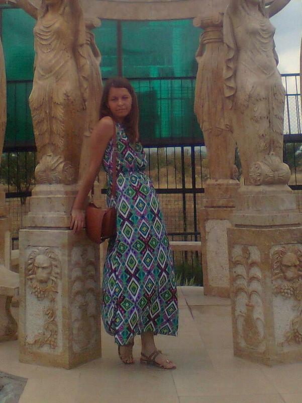Этно-платье от Nucia