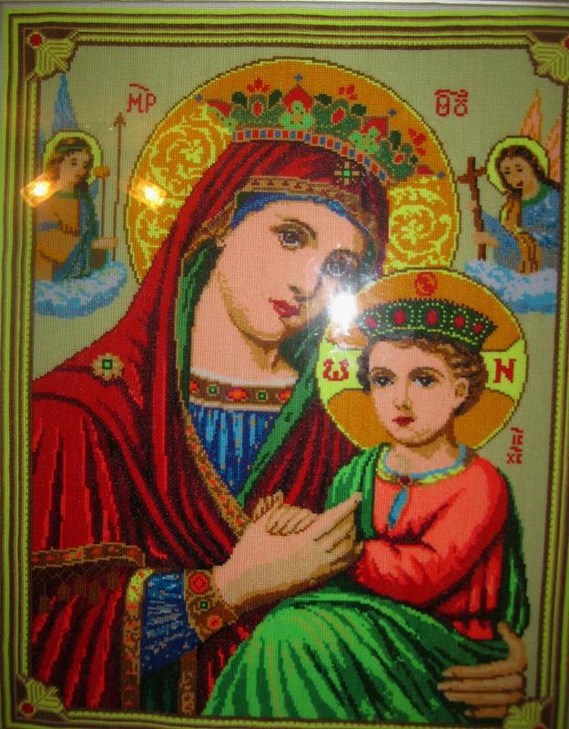 Икона Богородицы «Неустанная помощь». от Olga_Pol