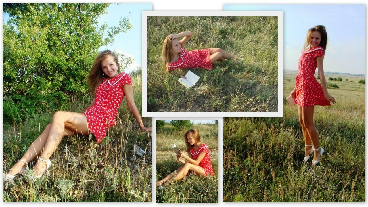Платье «а-ля крестьянка» от Annetka_K