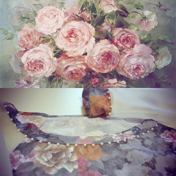 Блуза «Романтика» от jane kharlamova