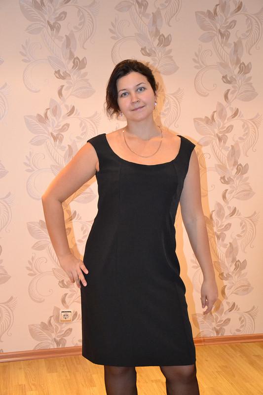 Классика-черное платье от Татина
