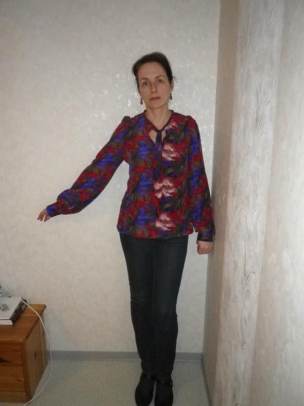 Блуза изнатурального шелка