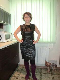 Работа с названием Платье к празднику