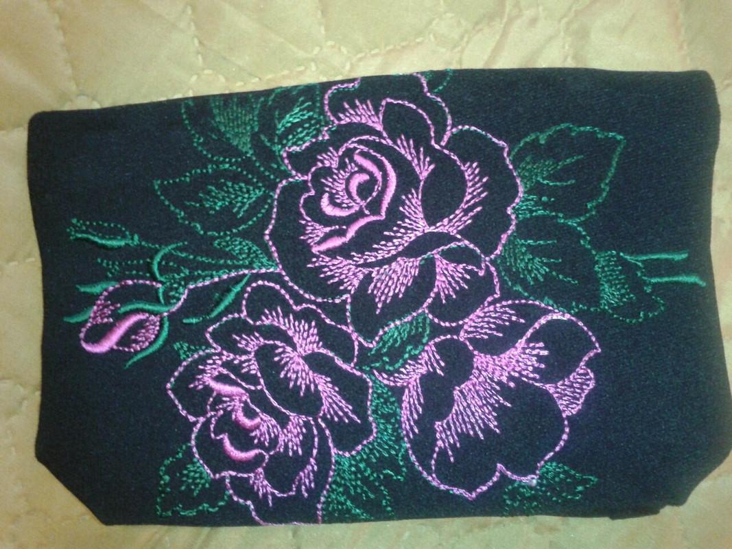 Дамская сумка икосметичка. от Afina477