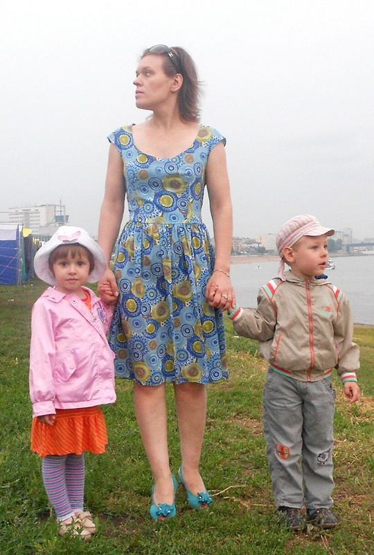 Три платья поодной выкройке