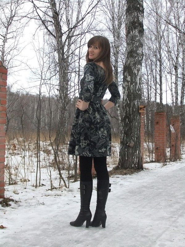 Зимнее платье от Ольга Z